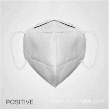 Disposable face mask with soft lining and earloops