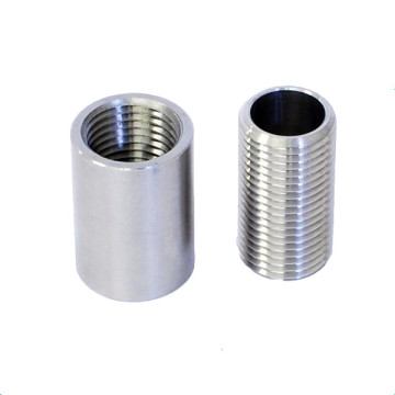 Custom Silver Cylinder Round M8 Aluminum Nut Spacers