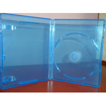 blue ray dvd storage case blank blue dvd cover 11MM single