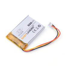 3 thread Free shipping 3.7V 500mAH 562438 PLIB polymer lithium ion battery for mp3 mp4 DVR Sho-me Combo 1 Shome combo A1
