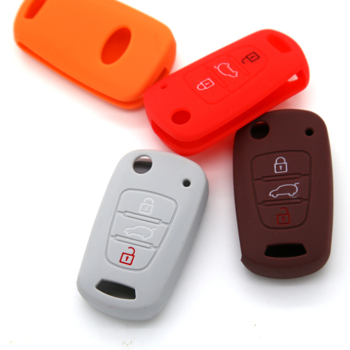 Silicon KIA 3 buttons Key Case
