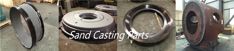 Aluminum sand casting machining parts