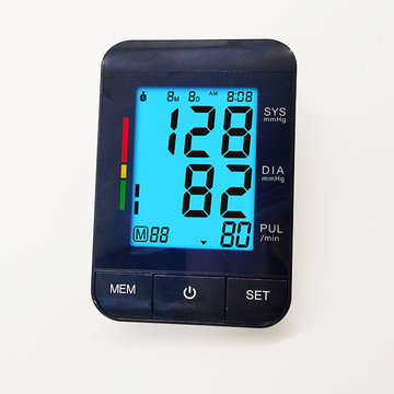 Backlight Charging Wholesale U80R Shenzhen blood pressure monitor with pulse