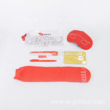 Disposable Airline Toothbrush Eyeshade Amenity Travel kit