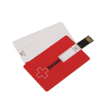 Plastic Usb business card usb flash drive