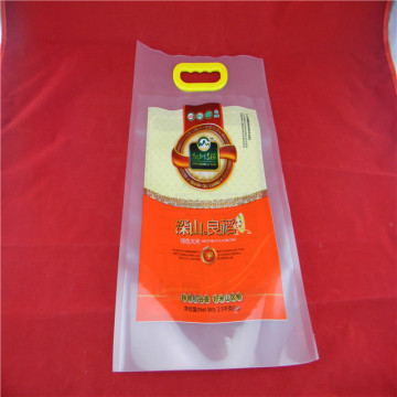 customized plastic stand-up packaging  bag for rice