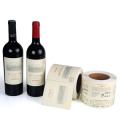 Custom Printed self adhesive label for wine bottles