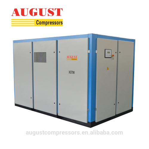 160KW Double Stage Compression rotary screw air compressor