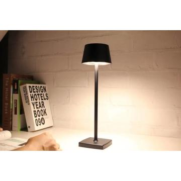 Aluminum Alloy Rechargeable LED Desk Table Reading Lamp