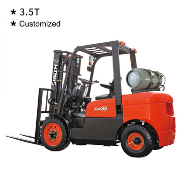 3.5 T Gasoline&LPG Forklift Customized