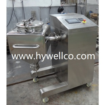 Hf Series Laboratory Square Cone Powder Blender