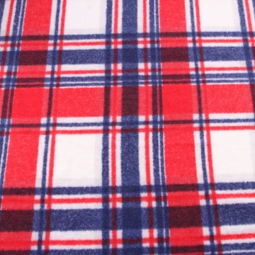 Fleece Brush Printed Knit French Terry Fabric