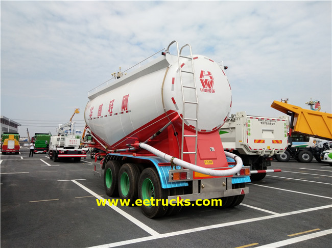 Powder Tanker Semi-trailers