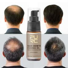 PURC Hot sale Fast Hair Growth Oil Hair Loss Treatment Help for hair Growth Hair Care Ginger Extract 20ml TSLM2