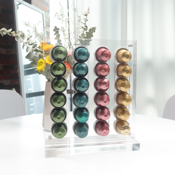 48 Pod Acrylic Coffee Pod Holder