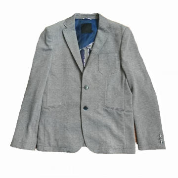 Men's casual suit jackets knitted jackets