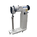 High Post Bed Compound Feed Heavy Duty Lockstitch Sewing Machine