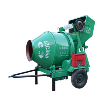 concrete mixer rotating drum Stir with fixing bucket