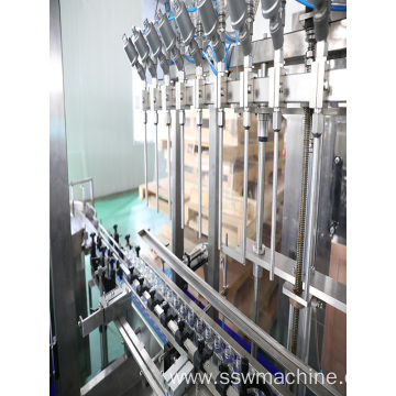 Automatic Shampoo Filling Capping Packaging Machine