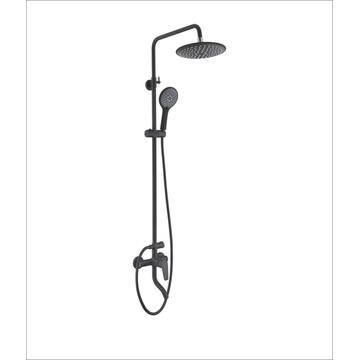 Set Mixer Faucet Rain Head Bathroom Shower