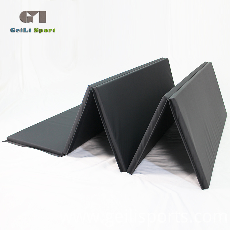 Gym Black Folding Mat