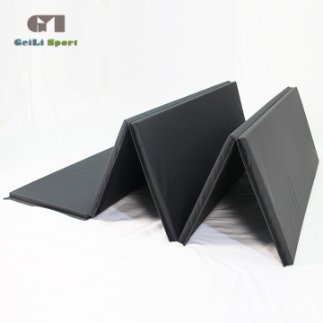 Black Gymnastics Folding Thick Foam Mat