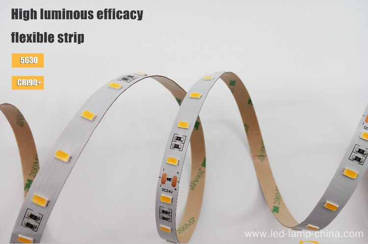 Flexible 5630 led strip