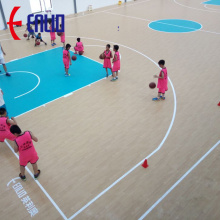 Indoor Basketball PVC Sports Flooring