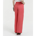Women wide leg Pants with big size bowknot