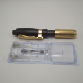 Needle Free Black Injector Pen Hyaluron Golden Hyaluronic Injector Hyaluronic Pen