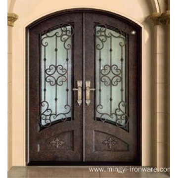 Hot Sale Security Steel Double Hand Forged Door