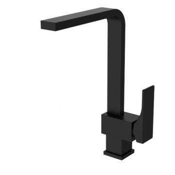 Simple bathroom faucet black