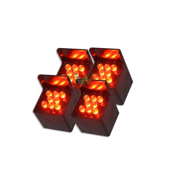 traffic arrow board parts yellow LED pixel tube