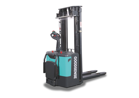 Electric Stacker With Different Model Mast