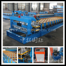 Glazed Tile Color Metal Roofing Sheet Forming Machine