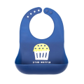 Custom Waterproof Comfortable Silicone Baby Bibs