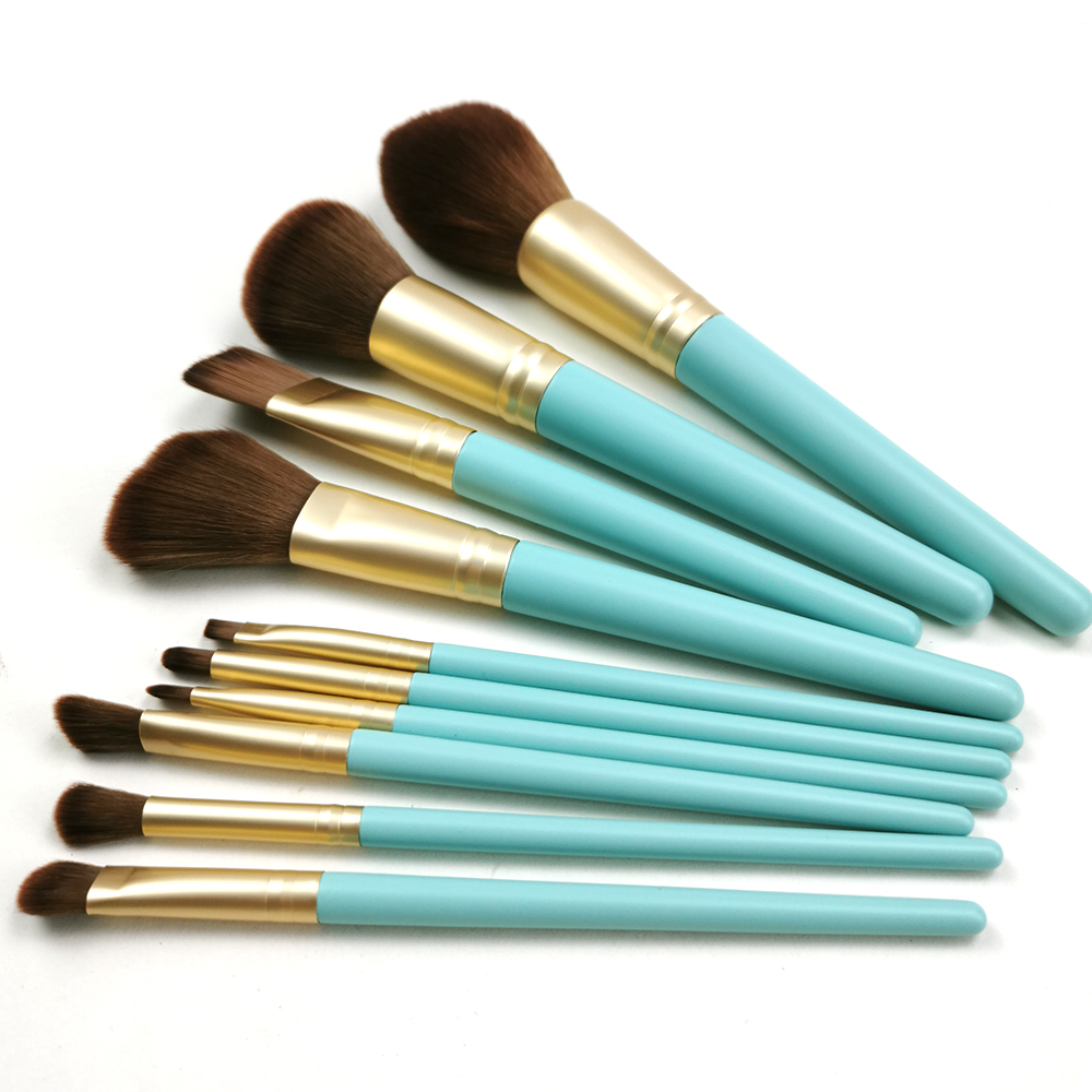 Green Handle Brushes