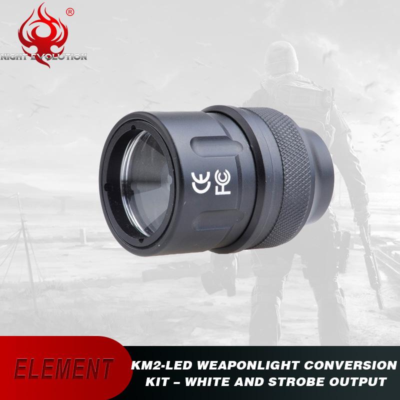 Element Airsoft Tactical Flashlight Surefir M600C Scout Hunting Light KM2 LED Kit Output Strobe Gun Weapon Light NE04048