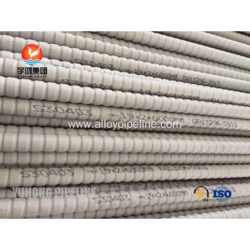 Heat Exchanger Stainless Steel Corrugated Tube