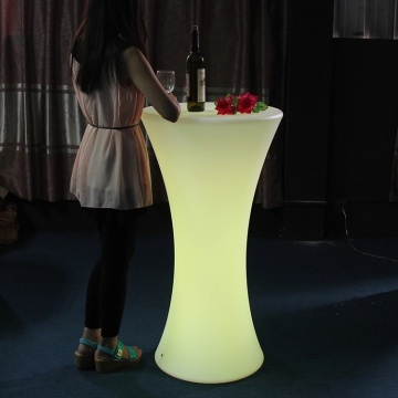 Nightclub Waterproof Led High Table And Chair