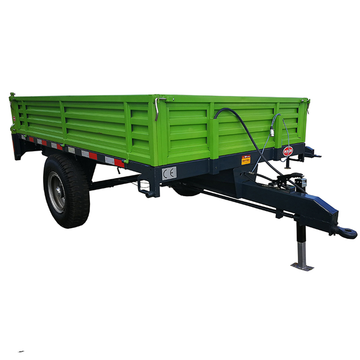 Farm machinery cargo trailer tractor tipper trailer