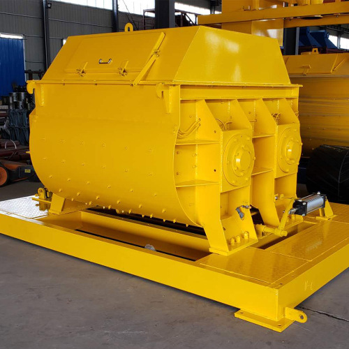 Electrical motor concrete mixer