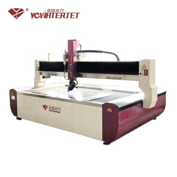 Dynamic 5 axis water jet cutting machine