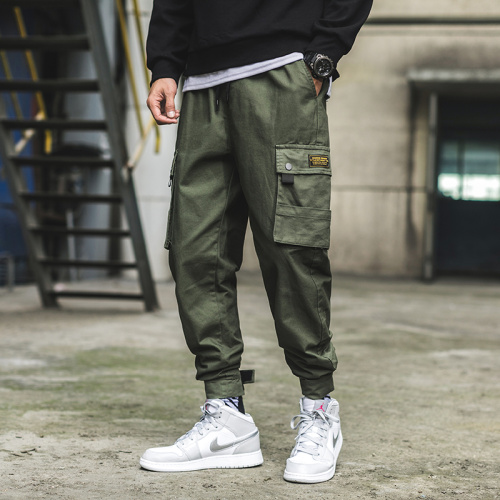 Men's Elastic waist slacks