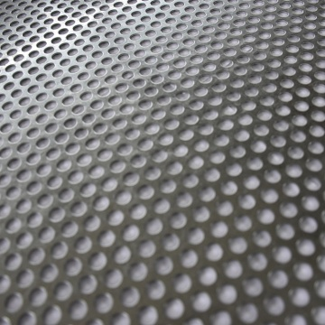 1.5mm hole size aluminium perforated mesh