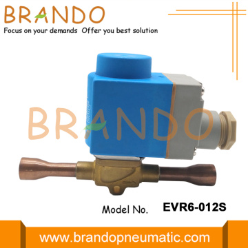 Solenoid Valve EVR6 for Refrigeration and Air Conditioning