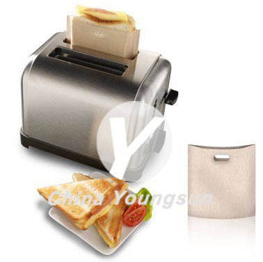 Reusable and Non-stick Toaster bags
