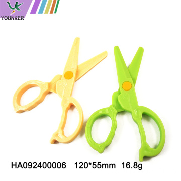 Children's safety scissors elastic round head scissors