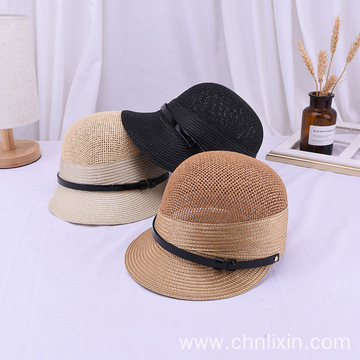 Summer beach straw hat snapback cap wholesale