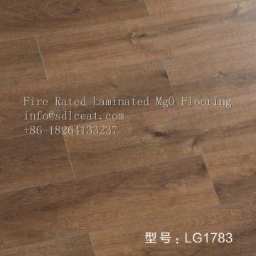 non-combustible rating decorative mgo laminated flooring